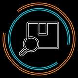 Paketverfolgungs-Ikone Berufs, Pixel perfekt vektor abbildung