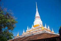 Pakho寺庙的古老塔在Sathing Phra区,宋卡府,泰国 免版税库存照片