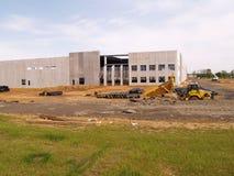 Pakhuis in aanbouw Stock Fotografie