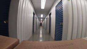 Pakhuizen voor opslag stock footage