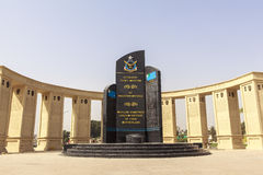Pakistan Air Force Museum in Karachi. This photo is taken in Karachi in Pakistan. PAF Museum is located adjacent to the PAF Base Faisal on the main shahrah-e Stock Photography