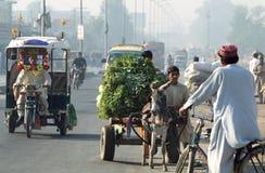 Pakistan-Alltagsleben lizenzfreie stockfotografie