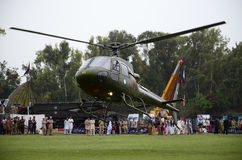 Pakistan Army Helicopter! Stock Images
