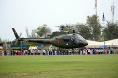 Pakistan Army Helicopter! Royalty Free Stock Image