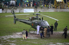 Pakistan Army Helicopter! Royalty Free Stock Photography
