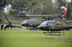 Pakistan Army Helicopter! Royalty Free Stock Photo