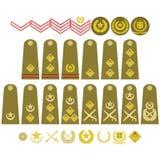 Pakistan Army insignia Stock Image