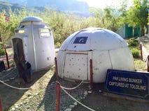 Pakistan army living bunker - captured during kargil war Royalty Free Stock Images