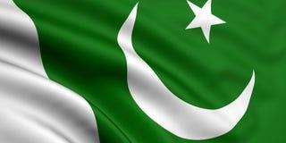 Pakistan bandery Obrazy Royalty Free