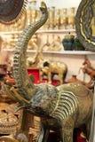 Pakistan bronze elephant Stock Image