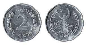 Pakistan Coin (1969 year) Stock Images
