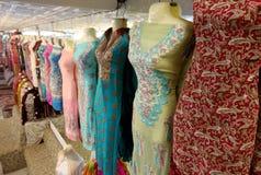 Pakistan dam odzież fotografia stock