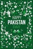 Pakistan dzień niepodległości Fotografia Stock