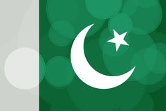 Pakistan dzień niepodległości Zdjęcie Royalty Free
