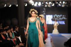 Pakistan Fashion Design Council (PFDC) Fall Fashion Week 2012 Stock Images