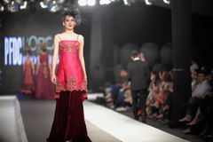 Pakistan Fashion Design Council (PFDC) Fall Fashion Week 2012 Royalty Free Stock Image