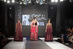 Pakistan Fashion Design Council (PFDC) Fall Fashion Week 2012 Royalty Free Stock Images