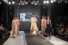 Pakistan Fashion Design Council (PFDC) Fall Fashion Week 2012 Royalty Free Stock Photos