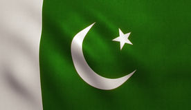 Pakistan Flag Royalty Free Stock Photos