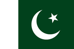 Pakistan flag Stock Photos