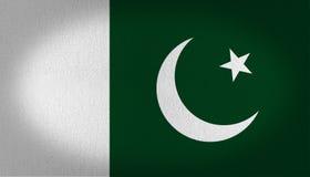 Pakistan flaga ilustracja wektor