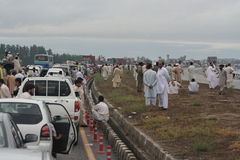 Pakistan flooding images Stock Image