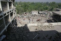 Pakistan hotel bombing Royalty Free Stock Photos