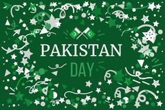 Pakistan Independence Day Stock Photo