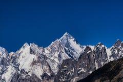 Pakistan Karakoram K2 som trekking arkivbilder