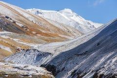 Pakistan kraju widok wzdłuż Karakorum autostrady Obrazy Stock