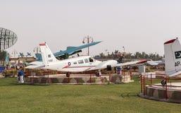Pakistan-Luftwaffen-Museum in Karatschi Stockbilder
