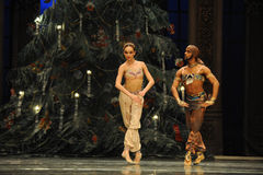 Pakistan man and the dancing girl Royalty Free Stock Photos