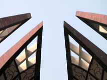 Pakistan monument i Islamabad, Pakistan lager videofilmer