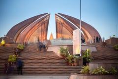 Pakistan-Monument, Islamabad, Pakistan stockbilder