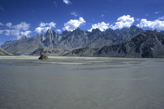 Pakistan Mountains 4 Royalty Free Stock Photos