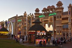 Pakistan pavilion at Global Village in Dubai, UAE. As seen on Dec 11, 2018. It is claimed to be the world`s largest tourism, leisure and entertainment project royalty free stock photography