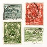 Pakistan portostämpel 1960 Arkivbilder