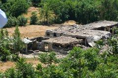 Pakistan powodzie i Buner ocena Zdjęcia Stock