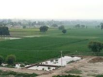 Pakistan rezydencja ziemska, Pokazuje Use Śródpolni paski obraz stock