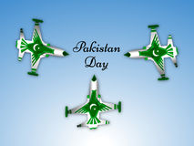 Pakistan`s Day background. Illustration of elements for Pakistan`s Day Royalty Free Stock Photography