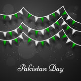 Pakistan`s Day background. Illustration of elements for Pakistan`s Day Stock Image
