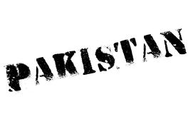 Pakistan stamp rubber grunge Royalty Free Stock Image