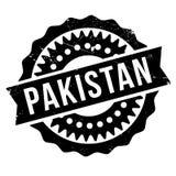 Pakistan stamp rubber grunge Royalty Free Stock Photo
