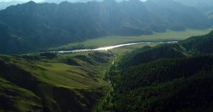 pakistan Vallée de montagne de rivière de montagne image libre de droits