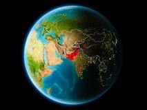 Pakistan w wieczór Obrazy Stock