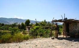Pakistan wieś i życie Obraz Stock