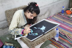 Pakistani Art Students Royalty Free Stock Photo