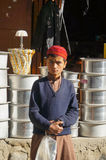 A Pakistani boy wearing traditional clothiPakistan Royalty Free Stock Images