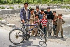 Pakistani boys Royalty Free Stock Photos