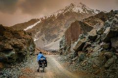 Up the Shandur Pass Stock Image
